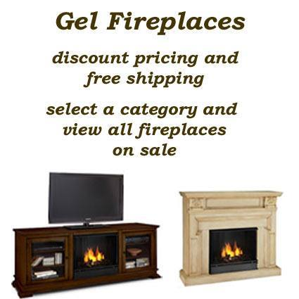 Gel Fireplaces are safe, clean, portable fireplaces with an instant installation