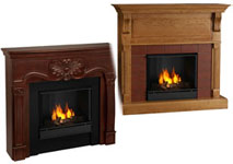 Click here for Wall Fireplace Models